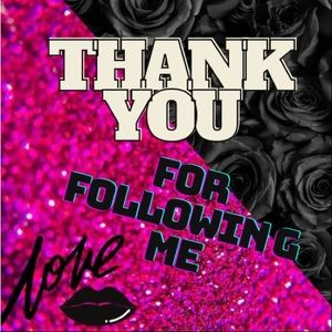Thank You For Following me🌺🌺🌺